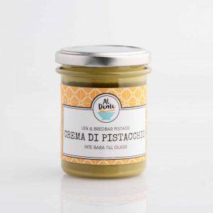 Kräm, smör eller spread med Pistage