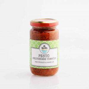 Pesto med soltorkade tomater