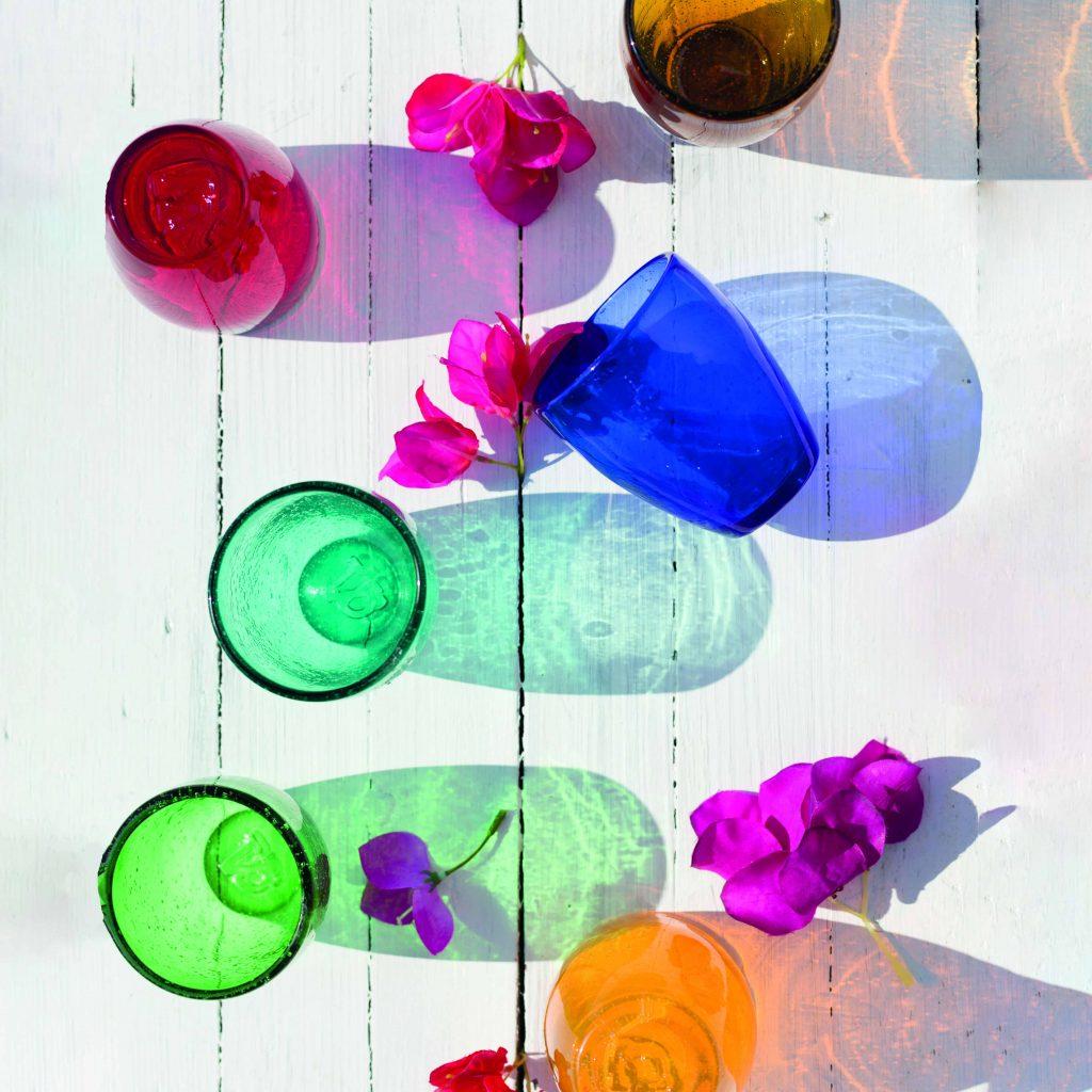 Dricksglas för vatten, läsk eller saft