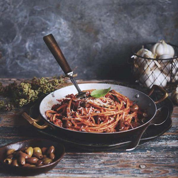 Kokbok Spaghetti bolognese tomatsås recept