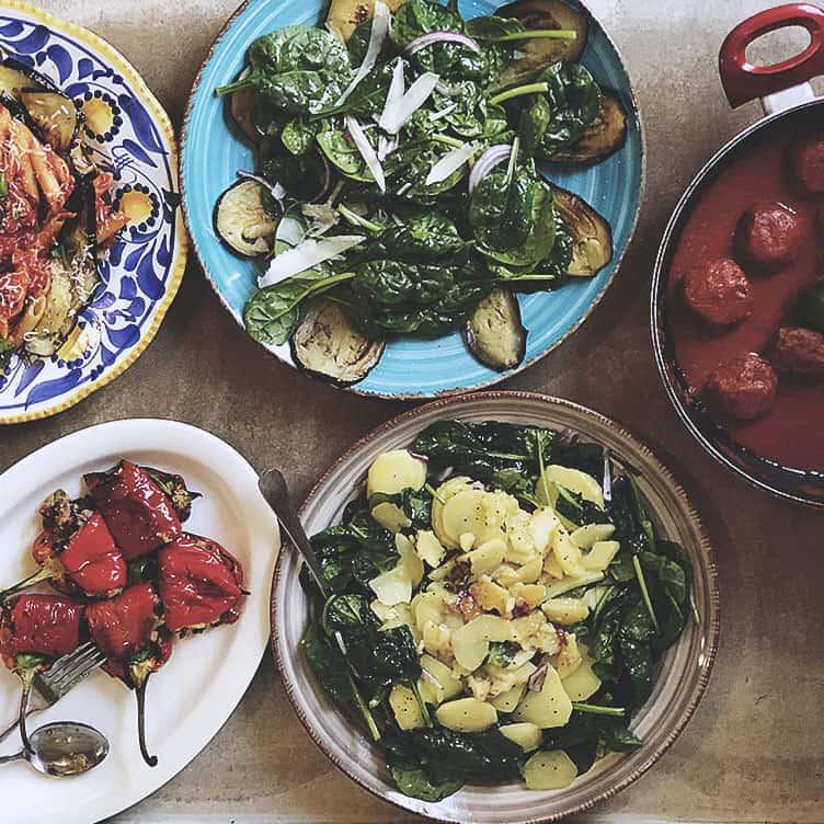 Kurs antipasti smårätter för inspiration och kunskap om det italienska köket