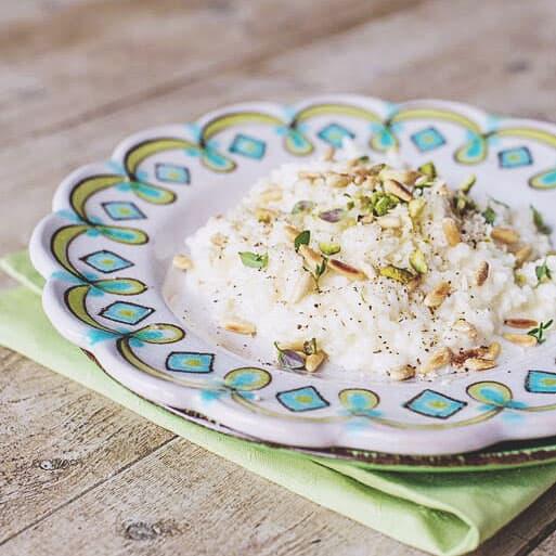 Kurs avancerad laga risotto på kurs med vänner och familj