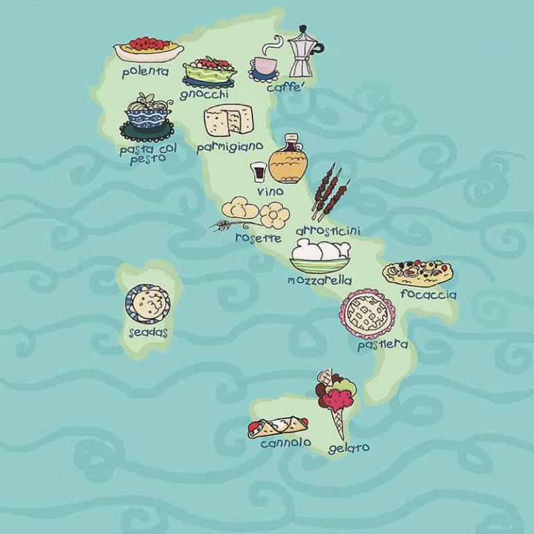Onlinekurs matresa genom italien present tips upplevelse