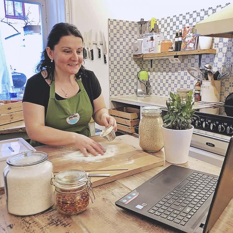 Onlinekurs med pastabakning live