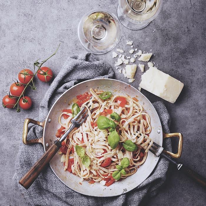 Pasta recept från italien