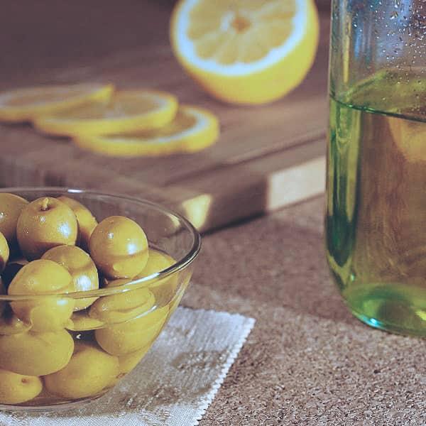 olivolja med citron från sicilien