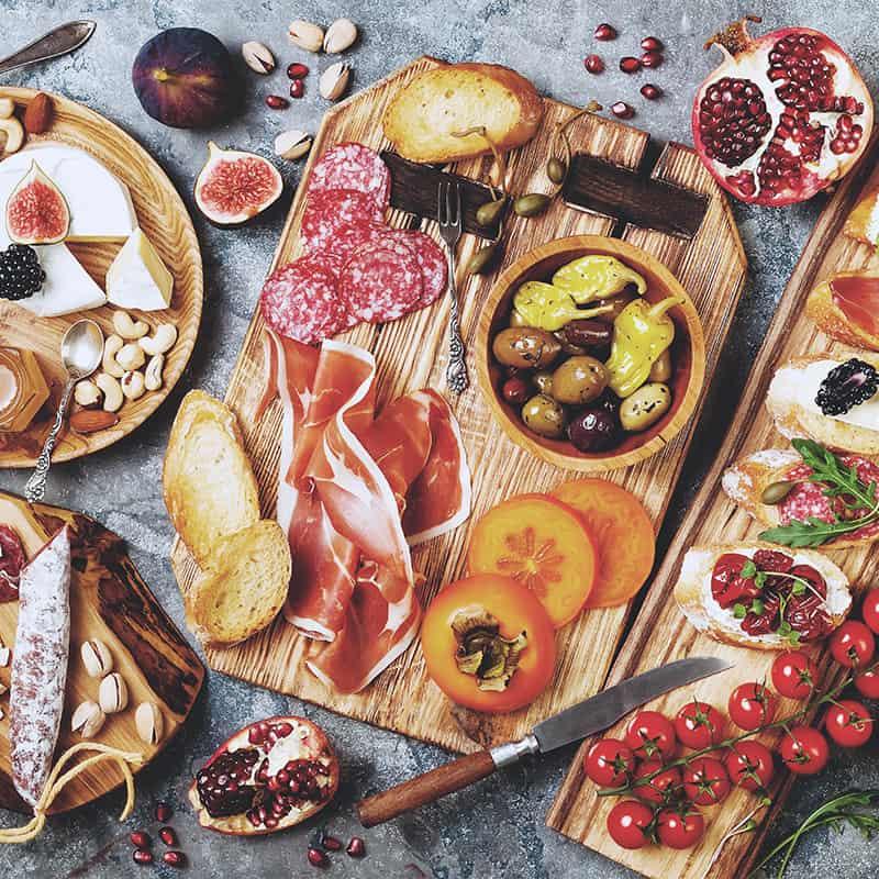 Antipasti, serveras före en måltid square