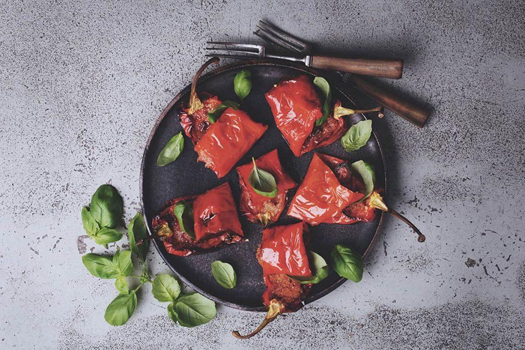 Contorno, tillbehör till middagen som en sallad eller tillagade grönsaker