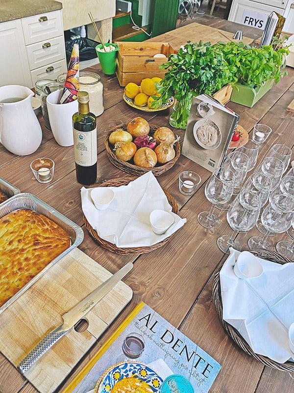 due roslagsgatan matstudio redo för att hålla kurs och event