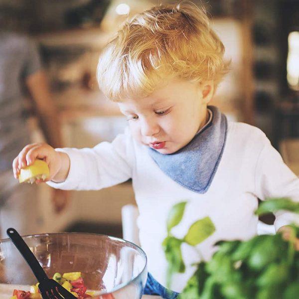 småbarn i köket 0-4 år går gratis