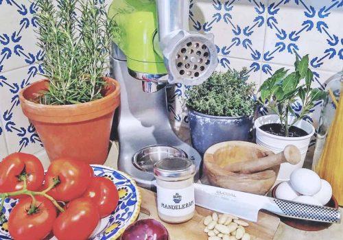 Privat sällskap i en av våra italienska matstudios i stockholm